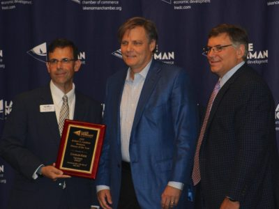 Knox honored as chamber's Business Person of the Year